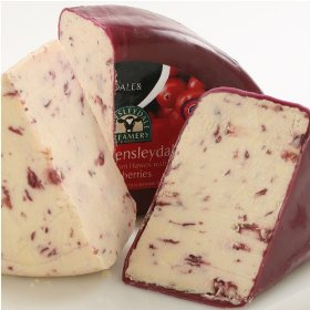 Wensleydale with Cranberries. 출처: http://www.thebuttercompartment.com/?m=20090304